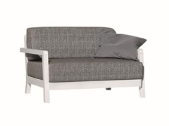 - 2 seater fabric garden sofa INOUT 102 - Gervasoni