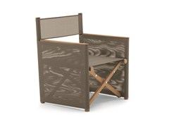 - Folding teak garden armchair ORSON | Garden armchair - RODA