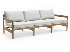 - 3 seater teak garden sofa ROAD | 3 seater sofa - RODA