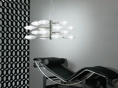 - Glass pendant lamp LOLLYPOP | 16L - LUCENTE - Gruppo Rostirolla