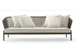 - 3 seater stainless steel garden sofa SPOOL | 3 seater sofa - RODA