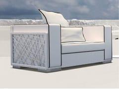 - Upholstered garden armchair SPIDER | Armchair - Talenti