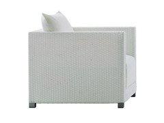 - Garden armchair with armrests INOUT 201 - Gervasoni