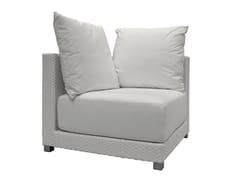- Corner garden armchair INOUT 206AN - Gervasoni