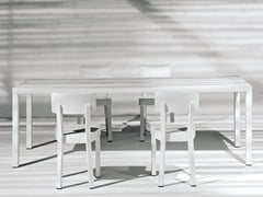 - Rectangular garden table INOUT 233 - Gervasoni