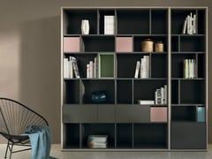 - Open lacquered bookcase SCOPIA | Open bookcase - Hülsta-Werke Hüls