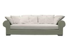 - 4 seater garden sofa INOUT 603 - Gervasoni
