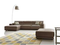 - Sectional imitation leather sofa BOOMAN LEATHER | Corner sofa - Ditre Italia