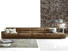 - Sectional imitation leather sofa BOOMAN LEATHER | Sectional sofa - Ditre Italia