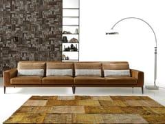 - Sectional imitation leather sofa MILLER LEATHER | Sectional sofa - Ditre Italia