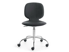 - Height-adjustable swivel task chair with 5-Spoke base ALIS R | Task chair - Crassevig