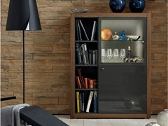 - Lacquered highboard with doors XELO | Highboard - Hülsta-Werke Hüls