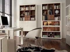 - Open lacquered bookcase with drawers XELO | Lacquered bookcase - Hülsta-Werke Hüls