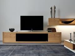 - Low oak TV cabinet XELO | TV cabinet - Hülsta-Werke Hüls