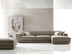 - Corner fabric sofa BUBLÈ | Corner sofa - Ditre Italia