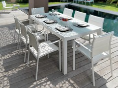 - Extending dining table TOUCH | Rectangular table - Talenti