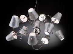 - Silver leaf pendant lamp ARIA | Pendant lamp - Metal Lux di Baccega R. & C.