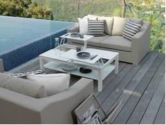 - 2 seater textilene garden sofa CHIC | 2 seater sofa - Talenti