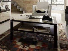- Square oak coffee table for living room CT 10   Oak coffee table - Hülsta-Werke Hüls