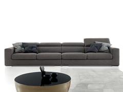 - Recliner fabric sofa ANTIGUA - Ditre Italia