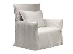 - Armchair with armrests with removable cover GHOST 04 - Gervasoni