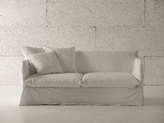 - 3 seater sofa bed with removable cover GHOST 15 - Gervasoni
