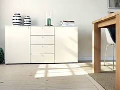 - Lacquered sideboard with doors with drawers MULTI-VARIS | Sideboard - Hülsta-Werke Hüls