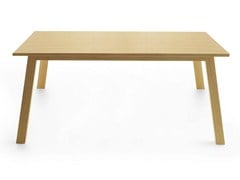 - Rectangular wooden table OXTON 200 - Crassevig
