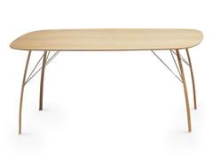 - Wooden table SOSPESO O - Crassevig