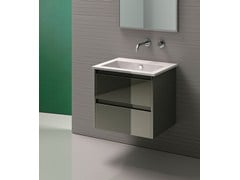 - Inset rectangular ceramic washbasin STAR 60 | Inset washbasin - CERAMICA CATALANO