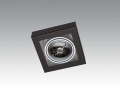 - Semi-inset ceiling spotlight LOOK IN SINGLE - Orbit