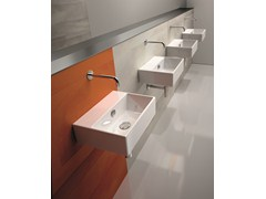 - Contemporary style ceramic washbasin PREMIUM 40 | Washbasin - CERAMICA CATALANO