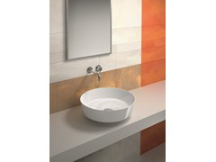 - Countertop round washbasin PREMIUM 48 | Countertop washbasin - CERAMICA CATALANO