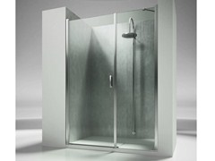 - Niche rectangular custom tempered glass shower cabin LINEA L2 - VISMARAVETRO