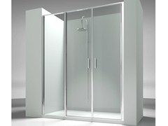 - Niche custom tempered glass shower cabin LINEA L3 - VISMARAVETRO