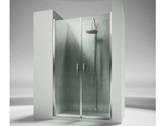 - Niche custom tempered glass shower cabin LINEA LB - VISMARAVETRO
