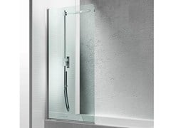 - Glass bathtub wall panel LINEA LV - VISMARAVETRO