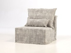 - Modular armchair with removable cover BRICK 06 - Gervasoni