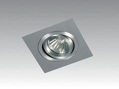 - Adjustable ceiling recessed spotlight TRIO SQUARE - Orbit