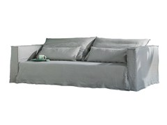 - 3 seater sofa with removable cover BRICK 10 12 - Gervasoni