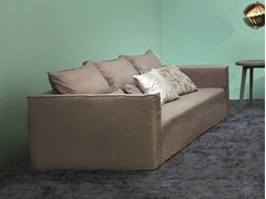 - 4 seater sofa with removable cover BRICK 16 - Gervasoni