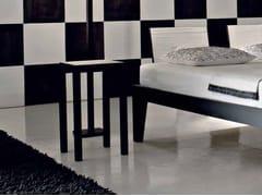 - Square walnut coffee table OTTO 143 S - Gervasoni