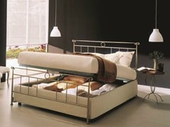 - Iron double bed DYLAN | Storage bed - Bontempi Casa