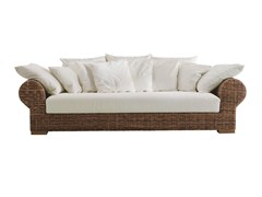 - 4 seater sofa with removable cover CROCO 03 - Gervasoni