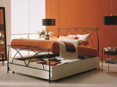 - Iron double bed MANON | Storage bed - Bontempi Casa