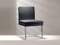 - Cantilever leather chair D13-12   Cantilever chair - Hülsta-Werke Hüls