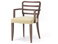 - Fabric restaurant chair with armrests WIENER 12 - Very Wood