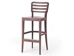 - Wooden counter stool with footrest WIENER 16/ 16 L - Very Wood