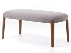 - Upholstered fabric bench BELLEVUE 10 - Very Wood
