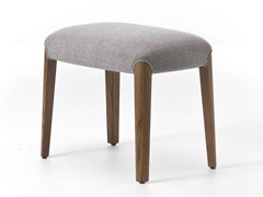 - Contemporary style upholstered square wooden pouf BELLEVUE 09 - Very Wood